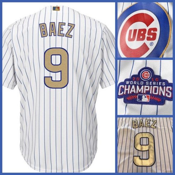 uk availability 4ecd5 7cbf4 Javier Baez Chicago Cubs Jersey XXL NWT